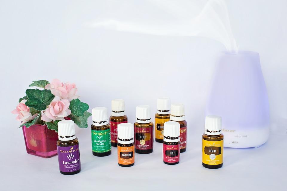 Servicios de ambientacion o aromaterapia